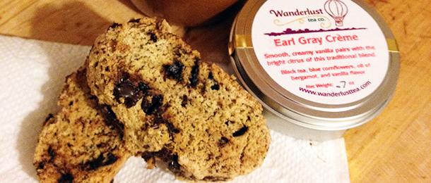 Foodie February: Dark Chocolate Earl Grey Biscotti